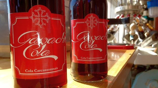 "Carcassonne - le Gavach cola, un produit occitan ""made in Aude"" - septembre 2015. / © F3 LR F.Guibal"