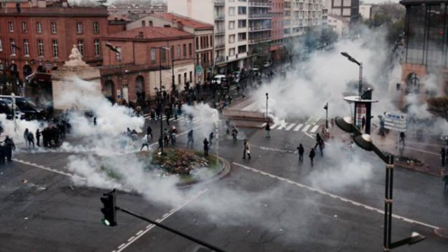 toulouse riots today
