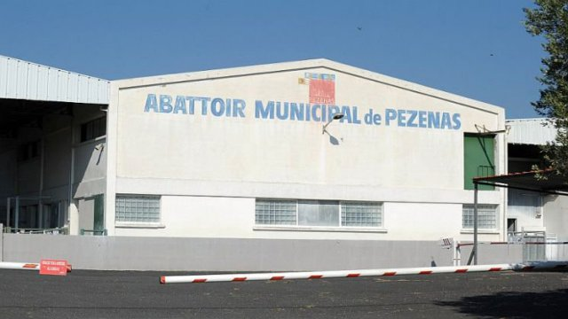 Pézenas (Hérault) - l'abattoir municipal - archives / © afp