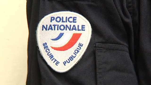 Ecusson police Nationale / © J. Lanchas France 3 LR