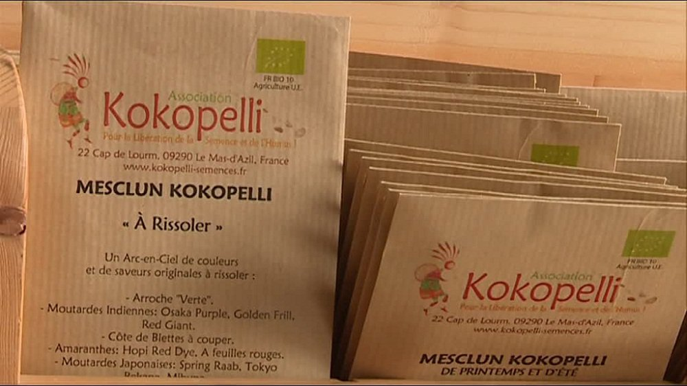 Kokopelli, l'association qui résiste aux semenciers