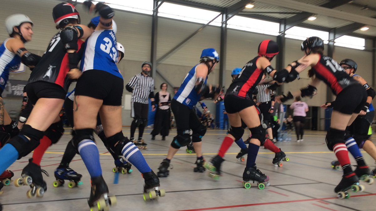 Le Roller Derby, un sport physique mais surtout tactique. / © Christine Ravier / France 3