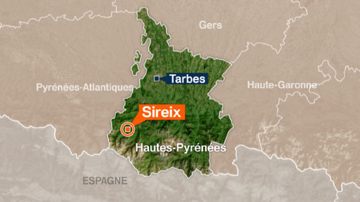 Sireix (65) : Un motard se tue sur la route du Lac d'Estaing