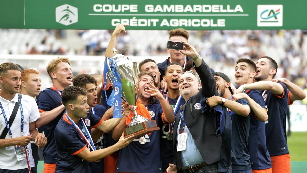 Football: Montpellier remporte la Coupe Gambardella au détriment de Marseille