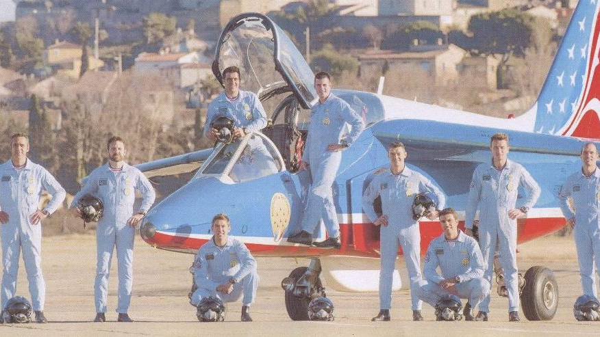 La Patrouille de France invitée à Saint-Bertrand-de-Comminges