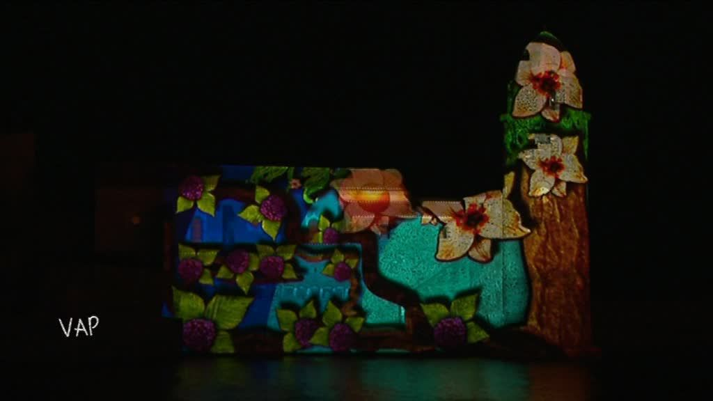 Collioure Couleurs : mapping (spectacle son et lumière) sur le clocher de Collioure / © France 3 Occitanie