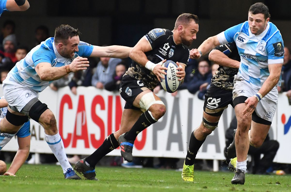 Le MHR s'incline à domicile face au Leinster — Rugby