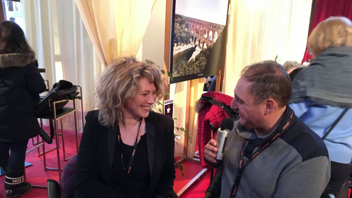 Interview de Cécile Bois Candice Renoir / © France 3 Occitanie