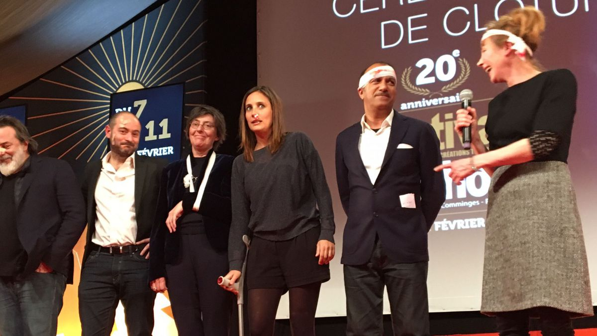 Le jury fiction présidée par Julie Depardieu / © France 3 Occitanie