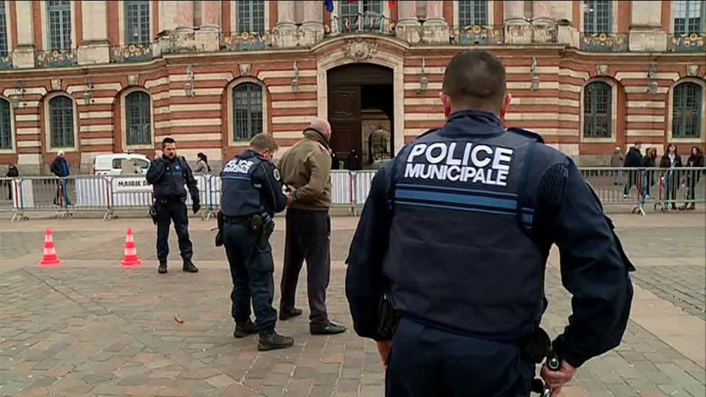 Démonstration d'interpellation d'un méchant par la police municipale / © France 3
