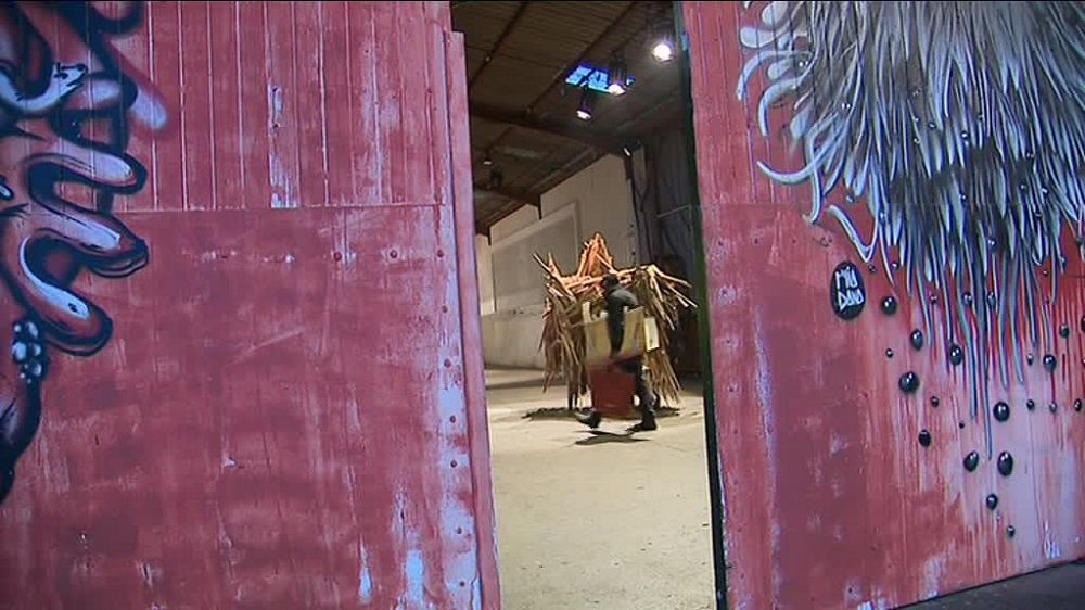 Mix'art : 4 000 m² d'ateliers d'artistes dans les anciennes usines Myris. / © France 3 Occitanie