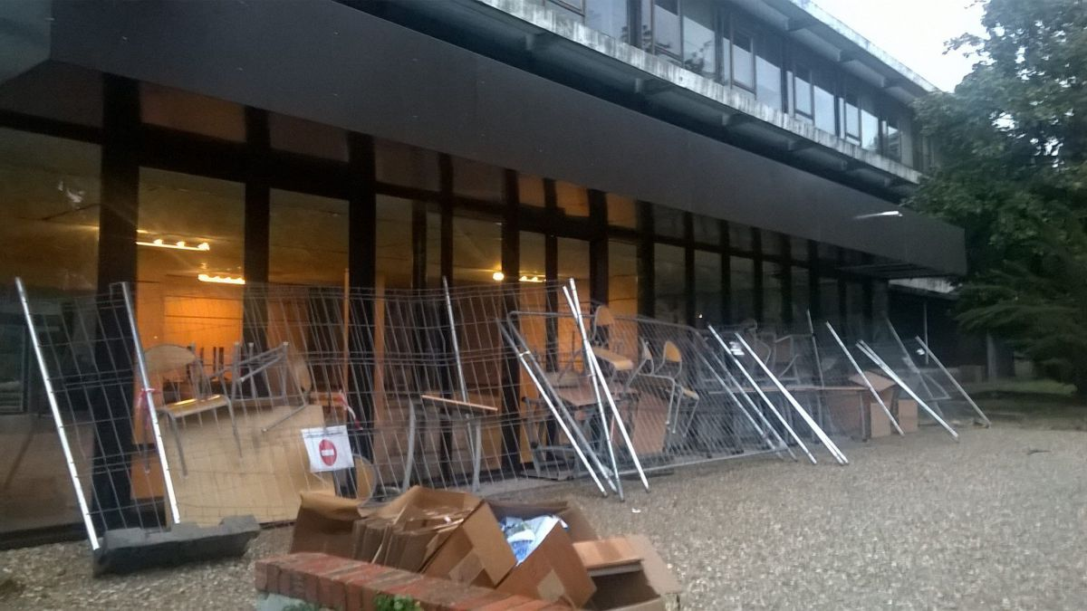 Le blocage à l'université Paul-Valéry se poursuit - 2018. / © SCUM