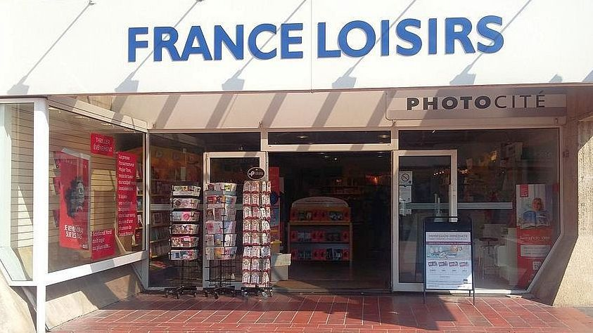 """Montpellier - le magasin France Loisirs du centre commercial """"Le triangle"""" - archives / © France Loisirs"""