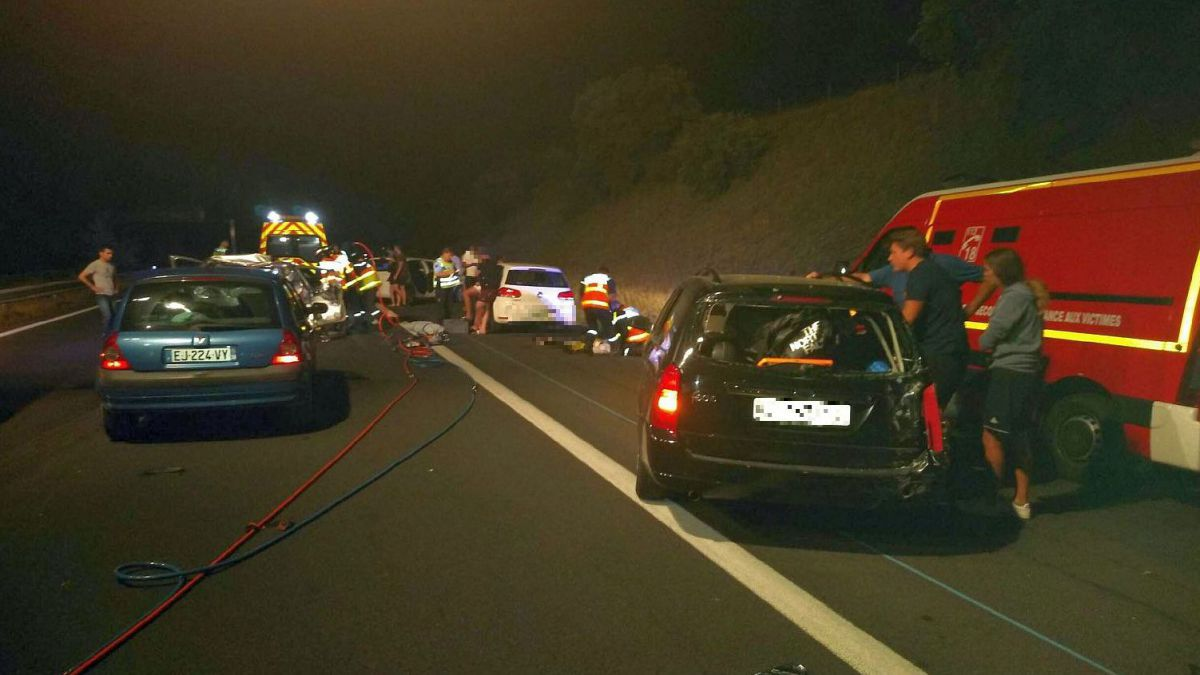 Gard : double accident mortel à Roquemaure et Tavel sur l'A9