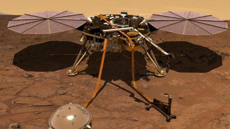 La sonde InSight / © CNES
