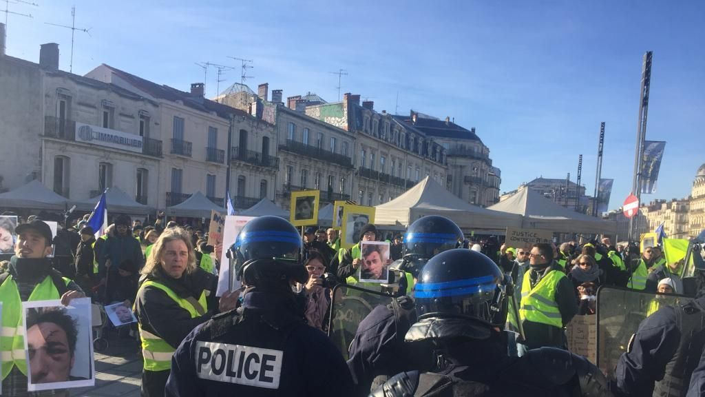 Gilets jaunes acte VIII : violents incidents à Montpellier
