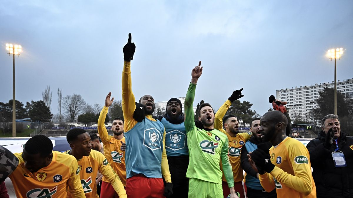 Les amateurs du Lyon Duchère ont écrasé le Nîmes Olympique 3 à 0, Montpellier s'est incliné contre l'entente Sannois Saint Gratien 0 à 1 lors des prolongations / © Jeff Pachoud AFP
