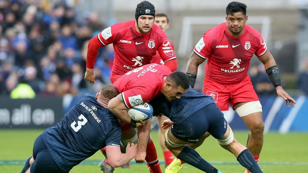 Coupe d'Europe de rugby : Toulouse chute face au Leinster