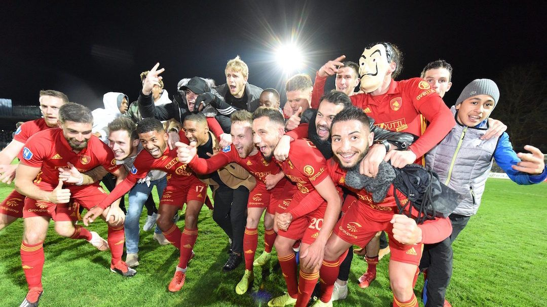 Après la montée en Ligue 2, le Rodez Aveyron Football (RAF) sacré champion de National