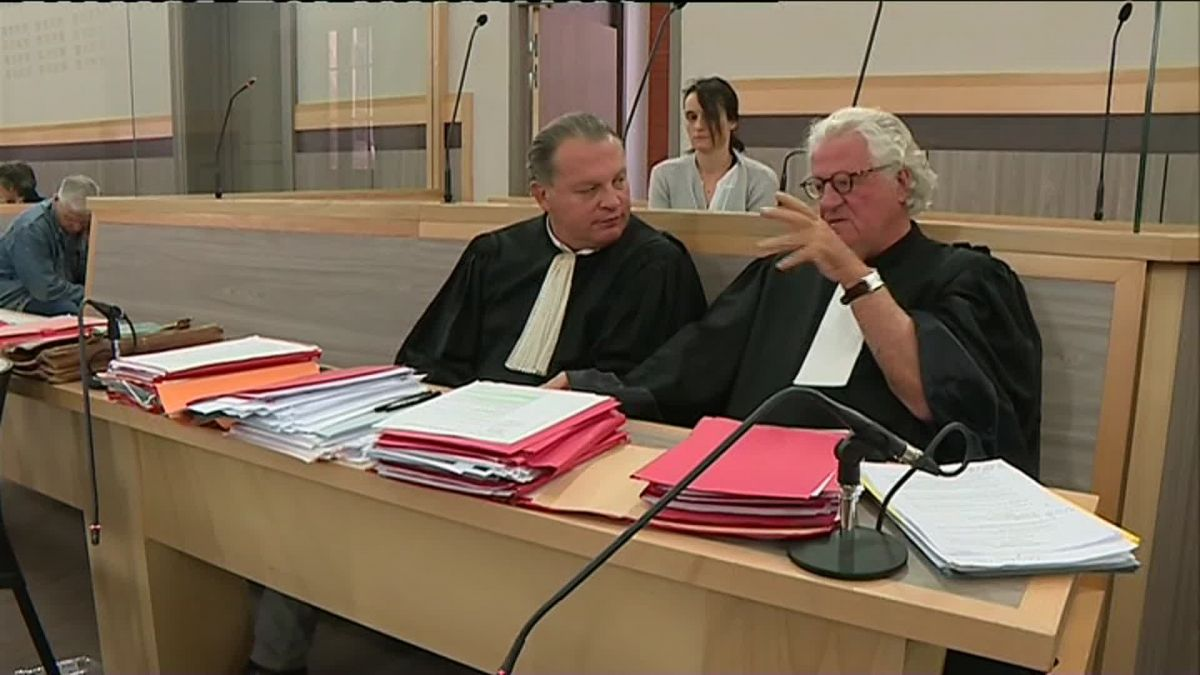 Laurent Boguet et Georges Cathala, les avocats d'Edith Scaravetti. / © France 3 Occitanie
