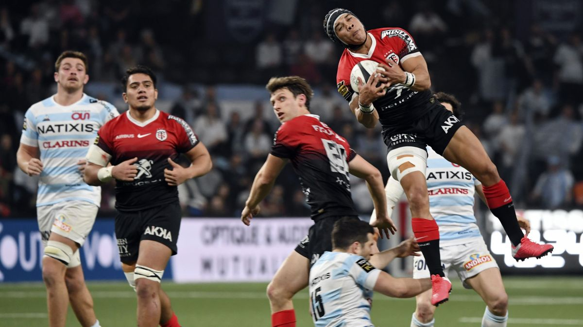 Rugby : le Racing assomme Toulouse