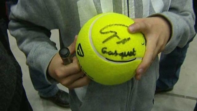 la signature de Richard Gasquet / © France 3 LR