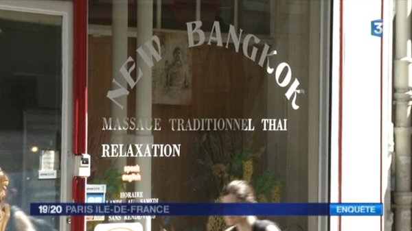 Les salons de massages fleurissent paris dans une grande opacit france 3 paris ile de france - Salon massage erotique paris 12 ...