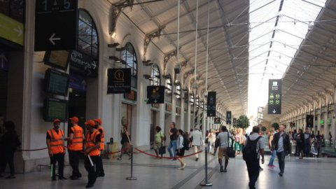 Saint-Lazare : le trafic Paris-Normandie interrompu