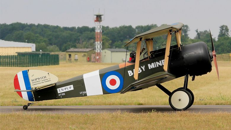 © Sopwith pup Thierry Roussel Meaux Airshow