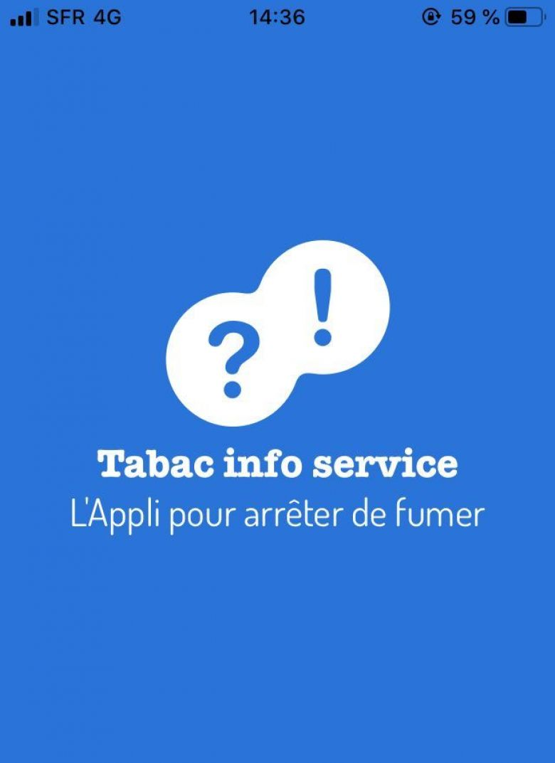 Application Mois sans tabac / © Tabac Info service