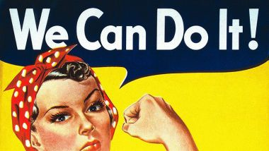 We Can Do It! de J. Howard Miller, 1943 / © Domaine public