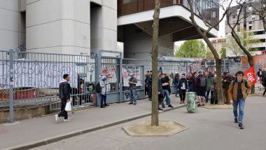 Le site de Tolbiac (Université Paris 1), le mercredi 11 avril 2018. / © MT - France 3 Paris - Île-de-France