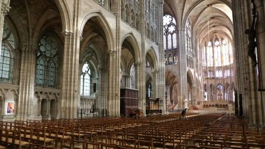 La rénovation de l'orgue de la basilique de Saint-Denis, dégradé fin mars, aura coûté 10 000 euros (illustration). / © LUDOVIC MARIN / AFP