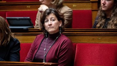 Cécile Rilhac, députée LREM de la 3e circonscription du Val-d'Oise. / © IP3 PRESS/MAXPPP