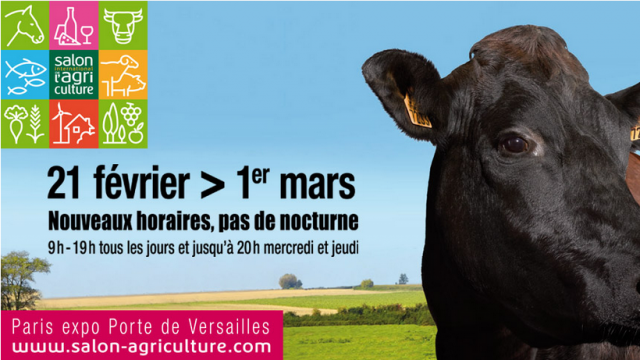 Sia 2015 quoi de neuf au salon de l 39 agriculture for Salon agriculture paris 2015