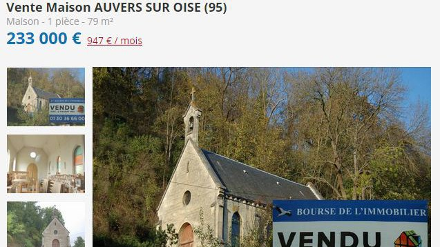 VIDEO. Une chapelle du Val-d'Oise sera transformée en habitation