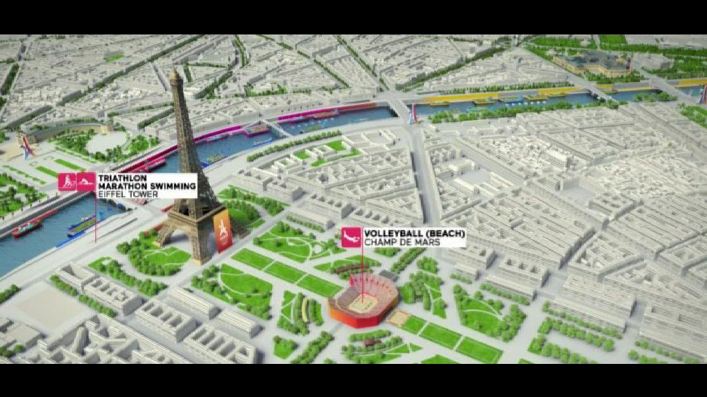 Paris 2024 : un slogan en anglais, pour une campagne internationale