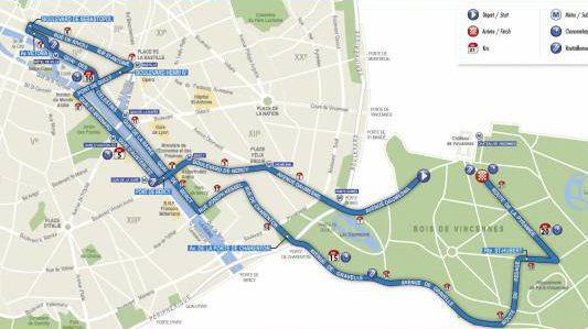Semi-marathon de Paris : les conditions de circulation
