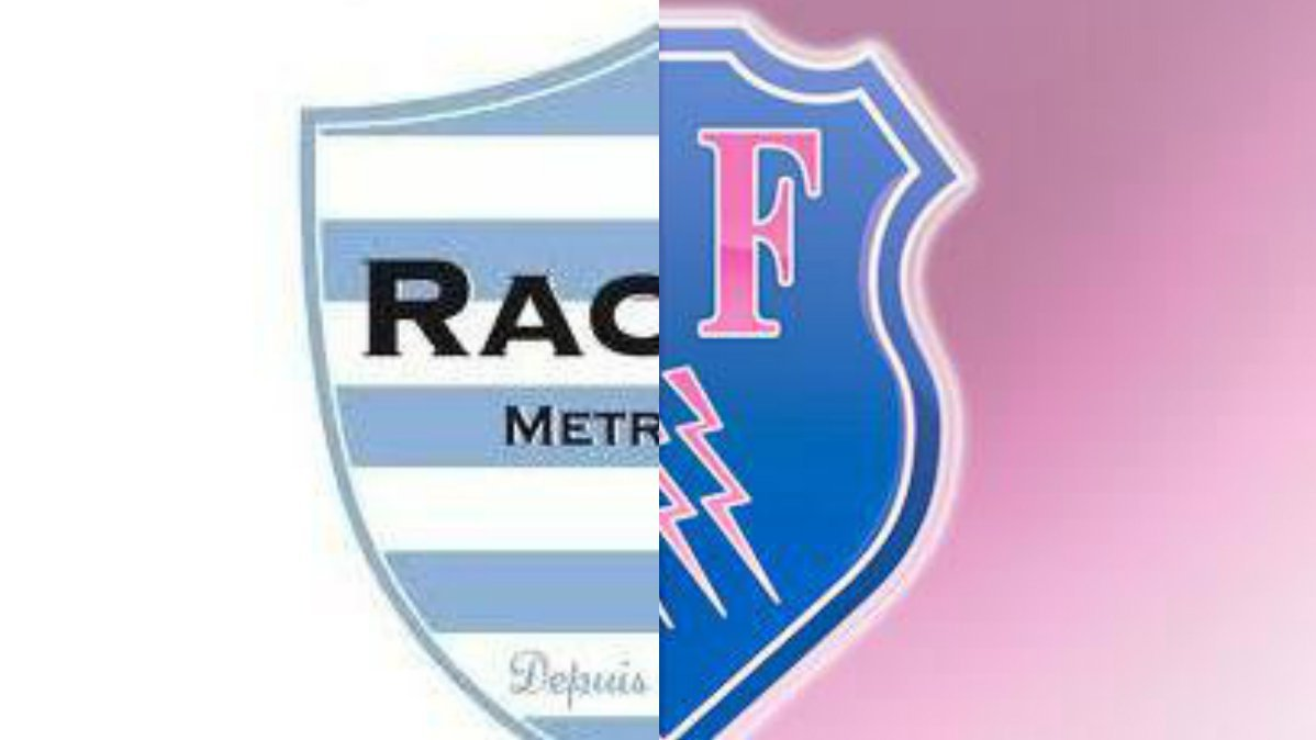 Les deux blasons du Racing 92 et du Stade Français. / © collage France 3 Paris IDF