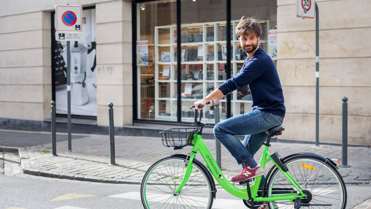 Gobee.bike : face au Vélib', une application de vélos sans stations arrive à Paris