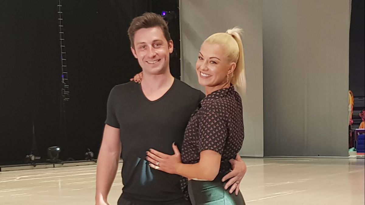 Brian Joubert et Katrina Patchett en couple star dans Holiday On Ice