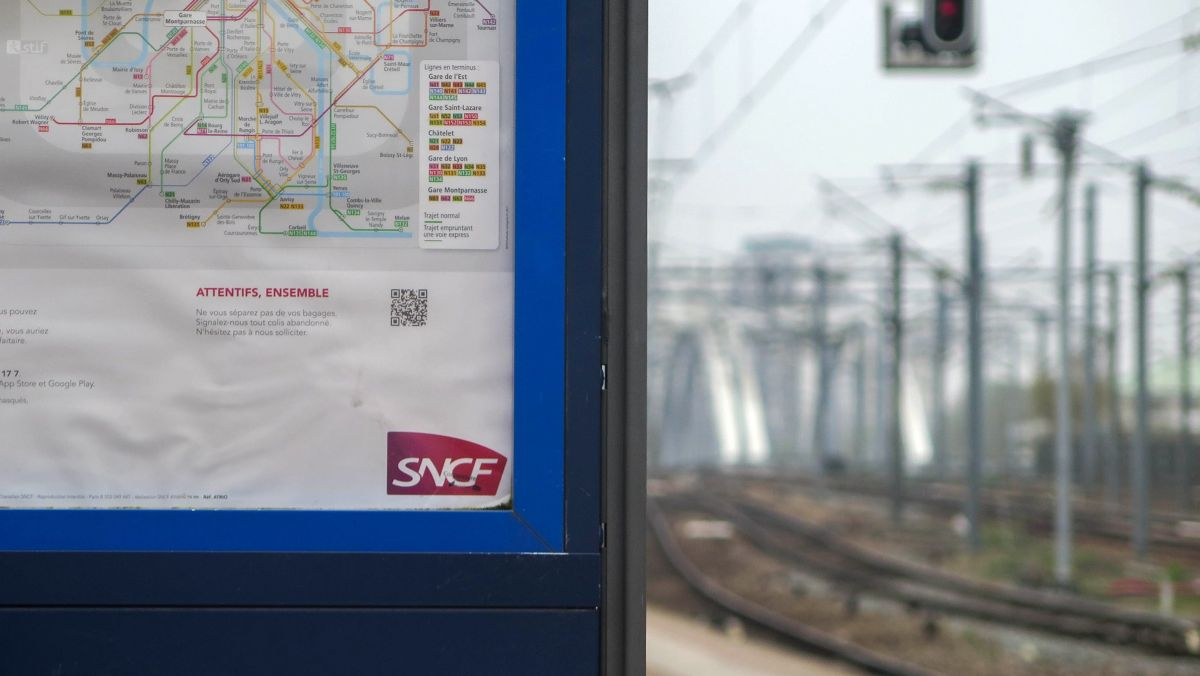 Une affiche de la SNCF. / © IP3 PRESS/MAXPPP