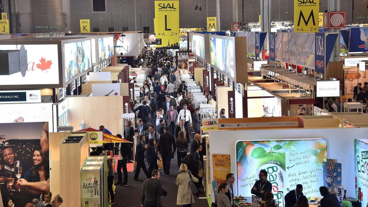 Le salon international de l'alimentation, à Villepinte, en 2016. / © PHOTOPQR/VOIX DU NORD/MAXPPP