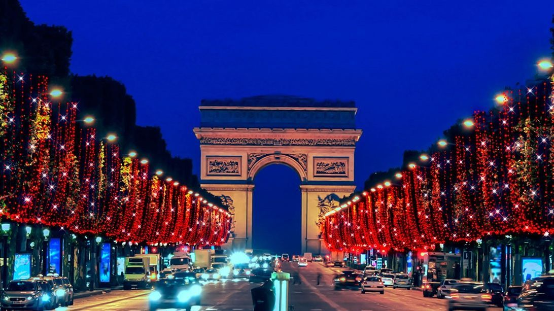 Image result for champs elysees illumination