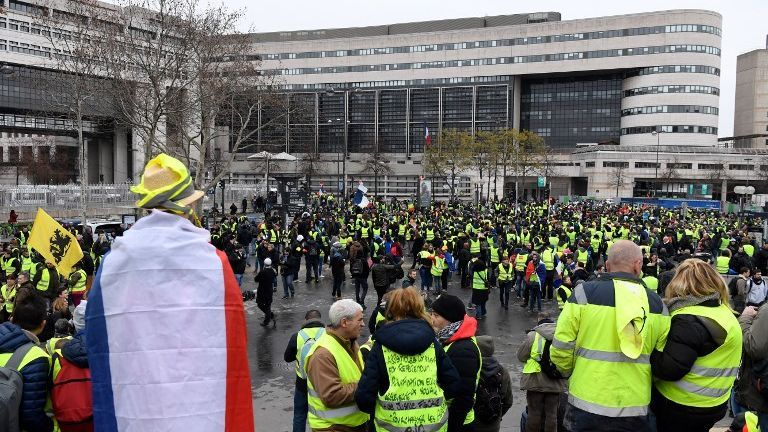 Gilets jaunes – Quatre manifestations déclarées à Paris, des restrictions de circulation à prévoir