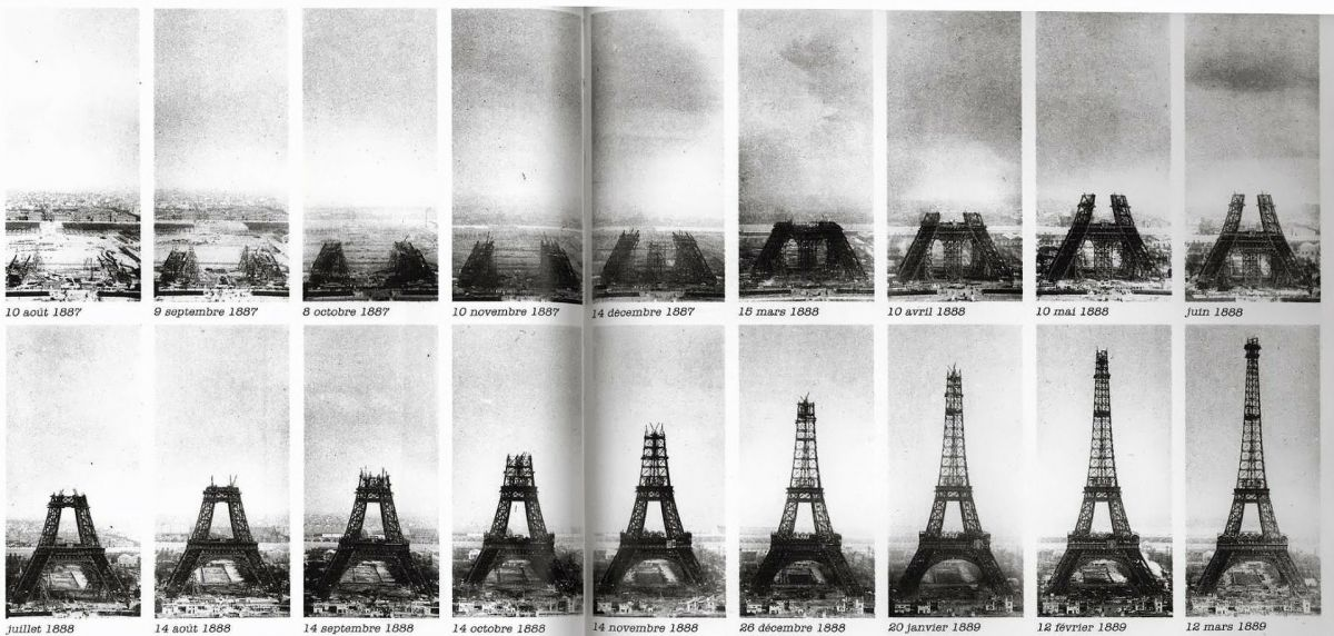 Paris : La tour Eiffel a 130 ans
