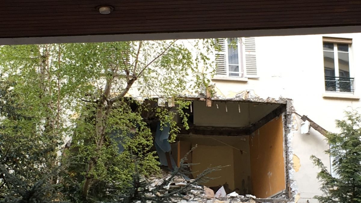 Paris - Une explosion ravage un appartement du 18e arrondissement