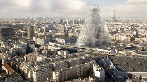 la tour Triangle / © Mairie de Paris