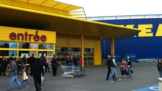 Liste des magasins ikea en france maison design for Ikea parati