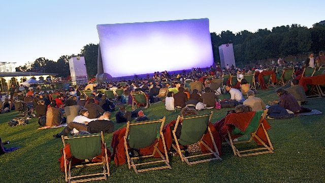 CARTE Le cinéma en plein air à Paris et en Ile-de-France